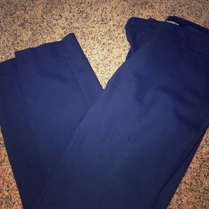 Express business pants. Ankle cut